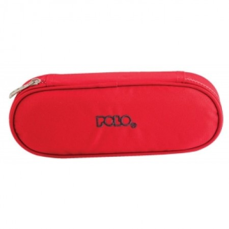 POLO Κασετίνα 2017 PENCIL CASE BOX Μονόχρωμη Κωδικός: 9-37-003-03 Color 03 Κόκκινη