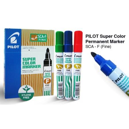 Ανεξίτηλος Μαρκαδόρος PILOT Super Color Permanent Marker SCA-FB (FINE)